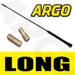 BLACK CAR RUBBER BEE STING AERIAL ANTENNA ROOF MAST AM / FM GENUINE REPLACEMENT Preview
