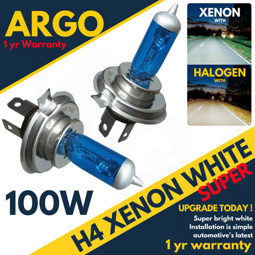 H1 H4 H11 501 100w Super White Xenon HID High//Low//Fog//Side Light Bulbs