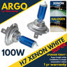 View Item H7 100w 8500k 499 Xenon Hid Super White Look Effect Head light Lamps Bulbs 12v