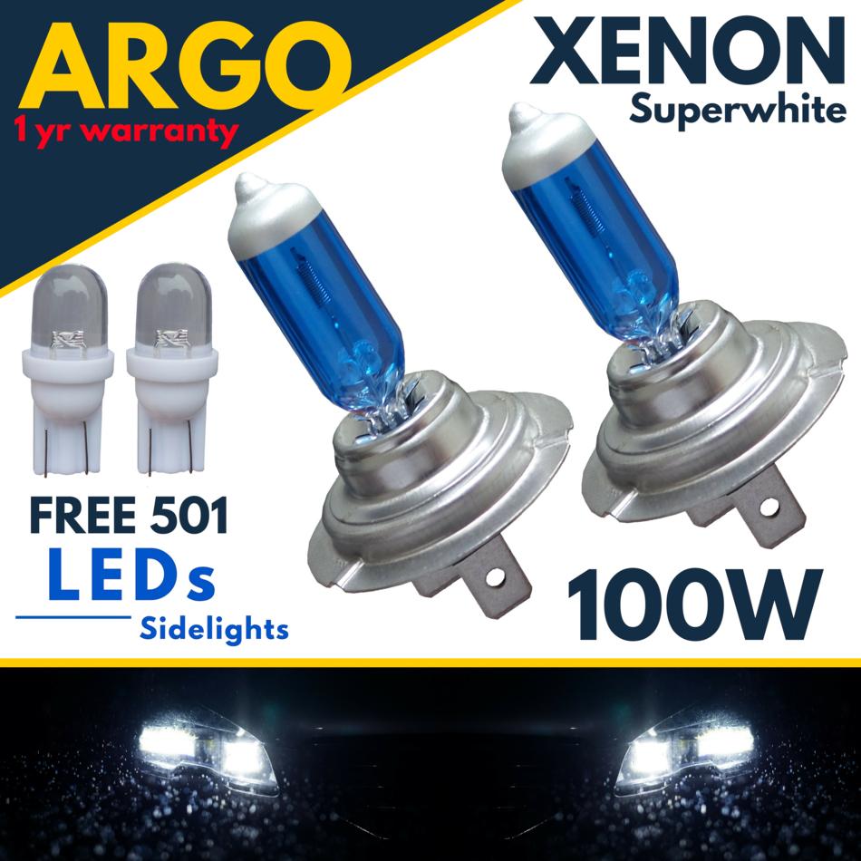 Ford Fiesta MK7 55w Super White Xenon HID Front Fog Light Bulbs Pair