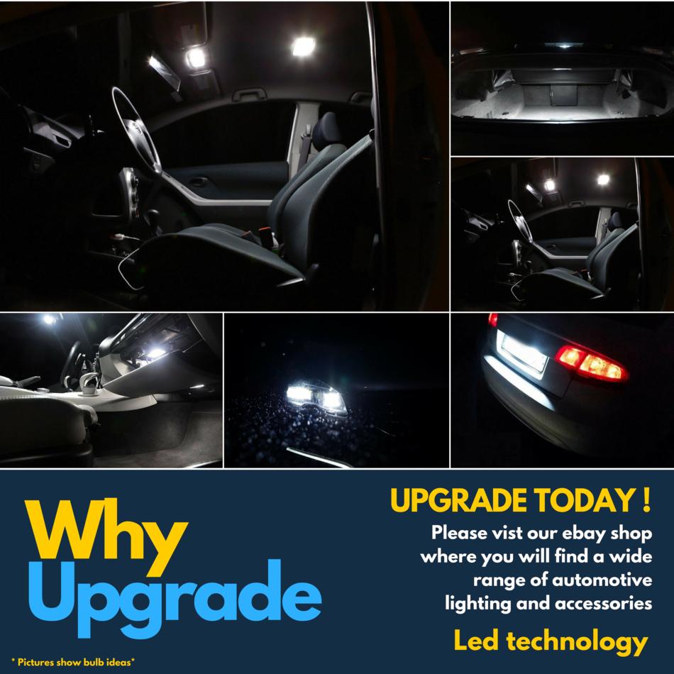 XENON 100W SUPER WHITE H7 PX26D Car LIGHT BULBS W5W CANBUS COMPATIBLE C