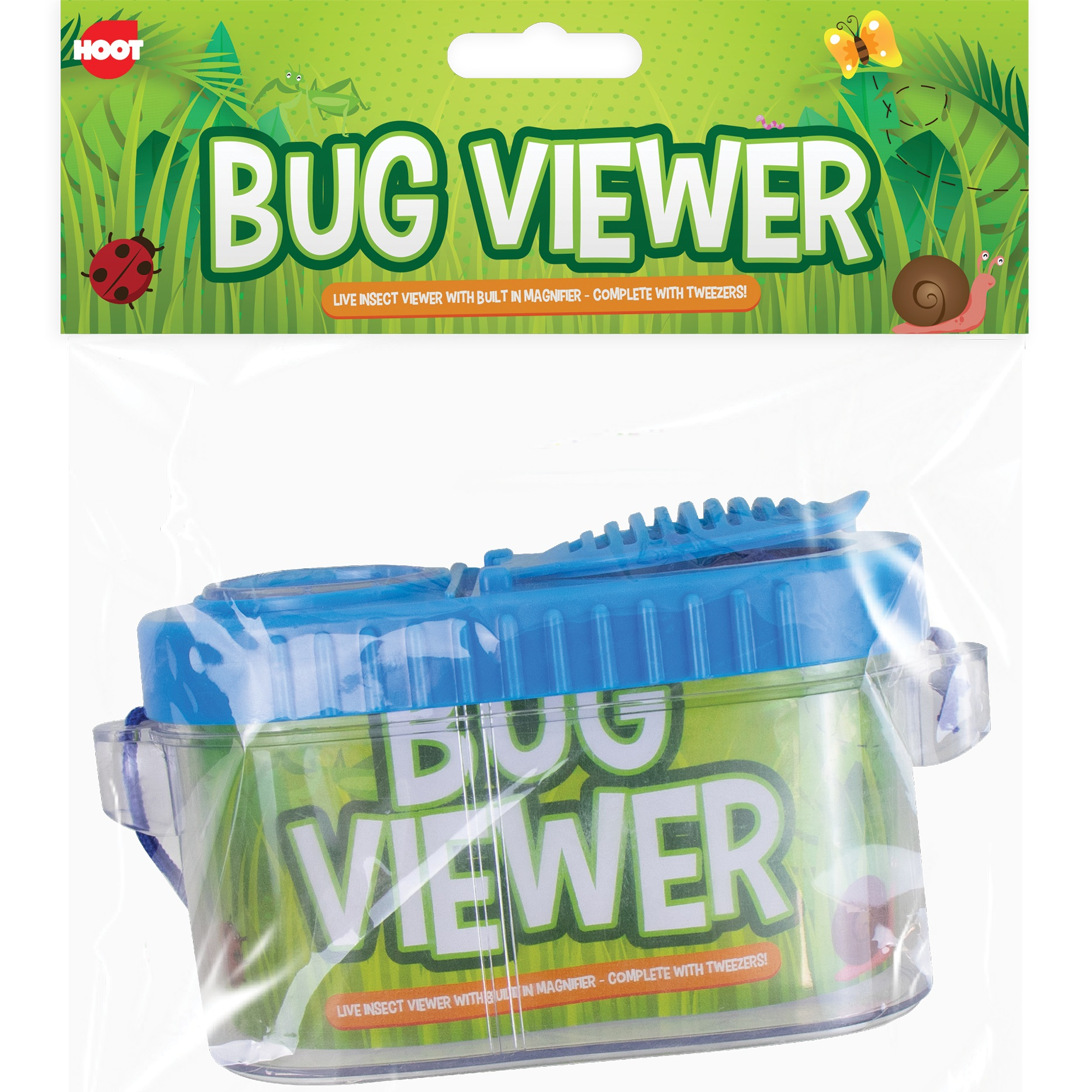 Butterfly Net BOY GIRL GARDEN DISCOVERY BUG TUB INSECT Viewer Magnify Pot