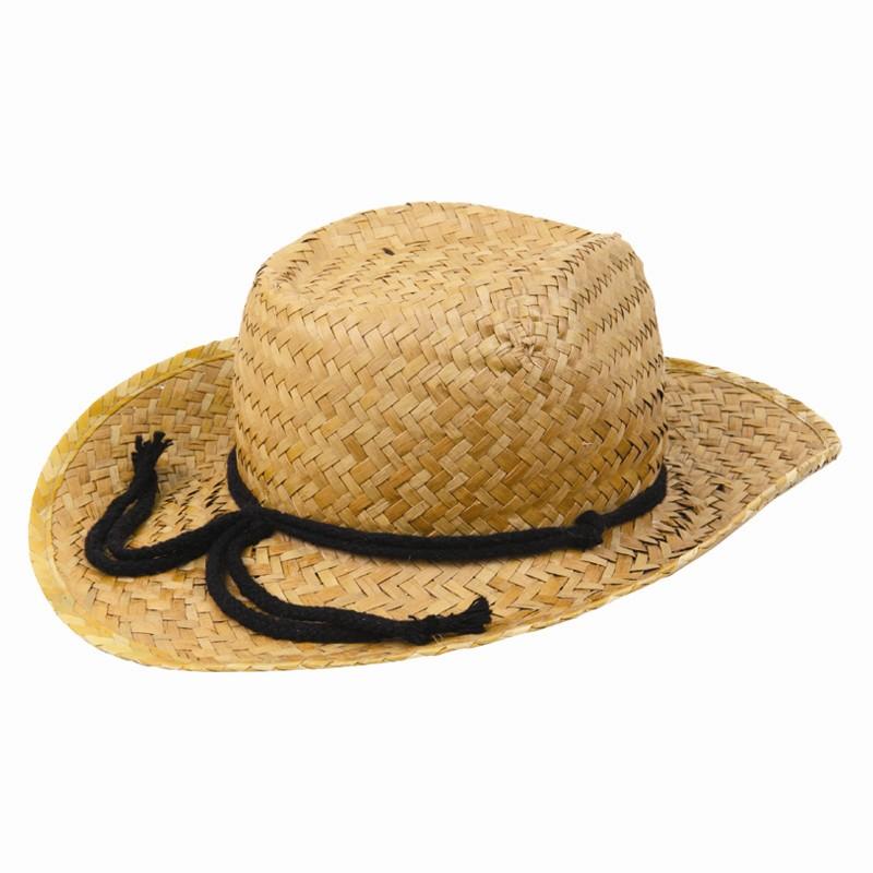SENTINEL Cappello di paglia ragazzi String retrò Cowboy Unisex Egg Hunt  festa Pasqua 1ed87cd783e5