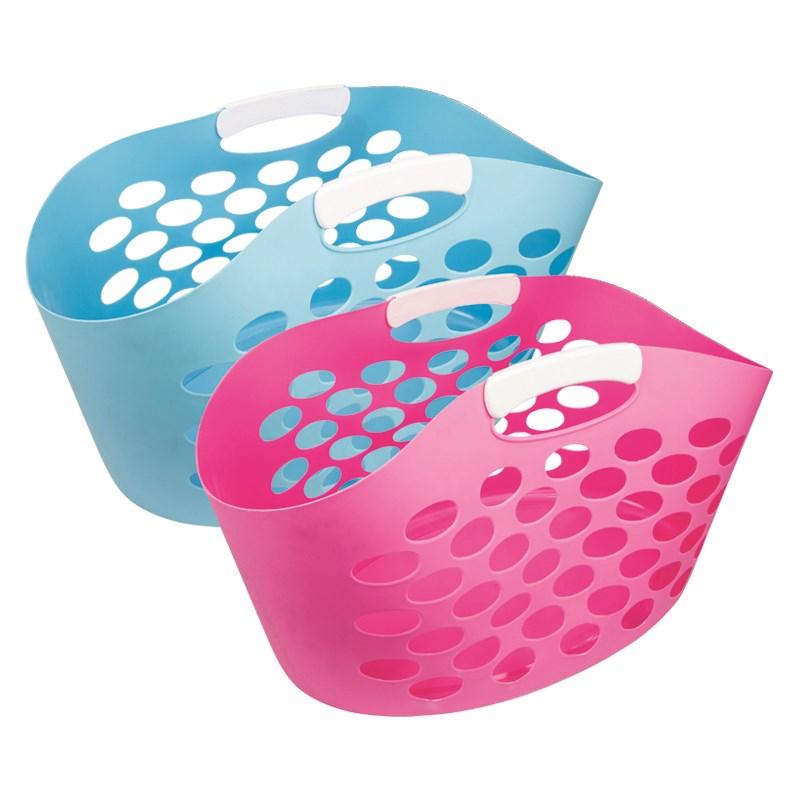 Pink Plastic Laundry Basket Amazing Pink Washing Basket Home Decorating Ideas Interior Design