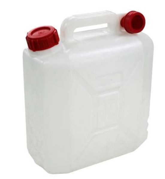 Sentinel 10 Litre Jerry Can Water Storage Petrol Diesel Fuel Container Spout C&ing 10L  sc 1 st  eBay & 10 Litre Jerry Can Water Storage Petrol Diesel Fuel Container Spout ...