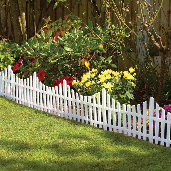 Flexible plastic garden border fence lawn grass edge path for Path and border edging
