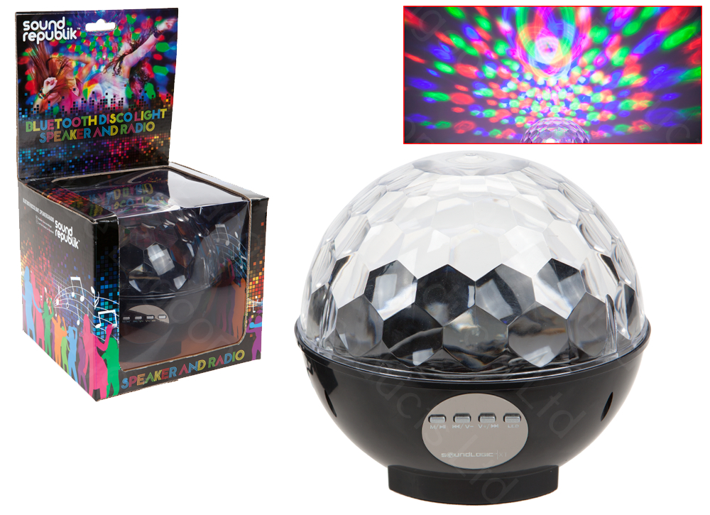 Bluetooth Party Led Disco Ball Speaker Boom Wireless Light