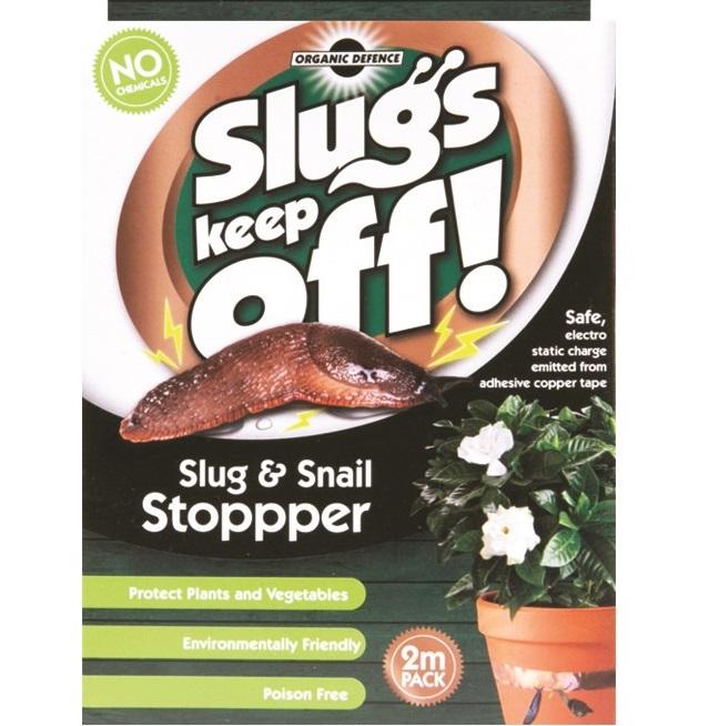 2 Metre Slug Snail Copper Barrier Tape Repellant Roll