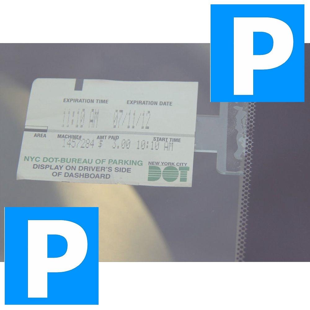 Republe 2 Pi/èces Transparent Parking Ticket Porte-Clip Pare-Brise Billets Glace Holder
