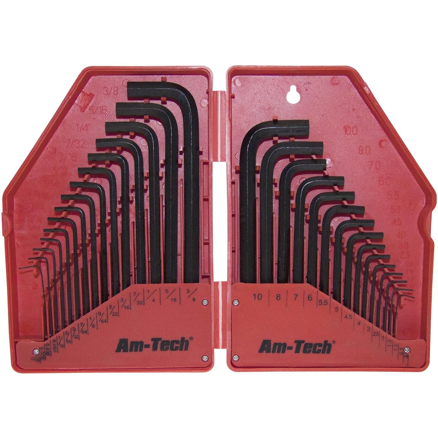 Clé Allen Bras Court L Clé hexagonale en acier allié-Métrique Tailles-toutes tailles /& qtés