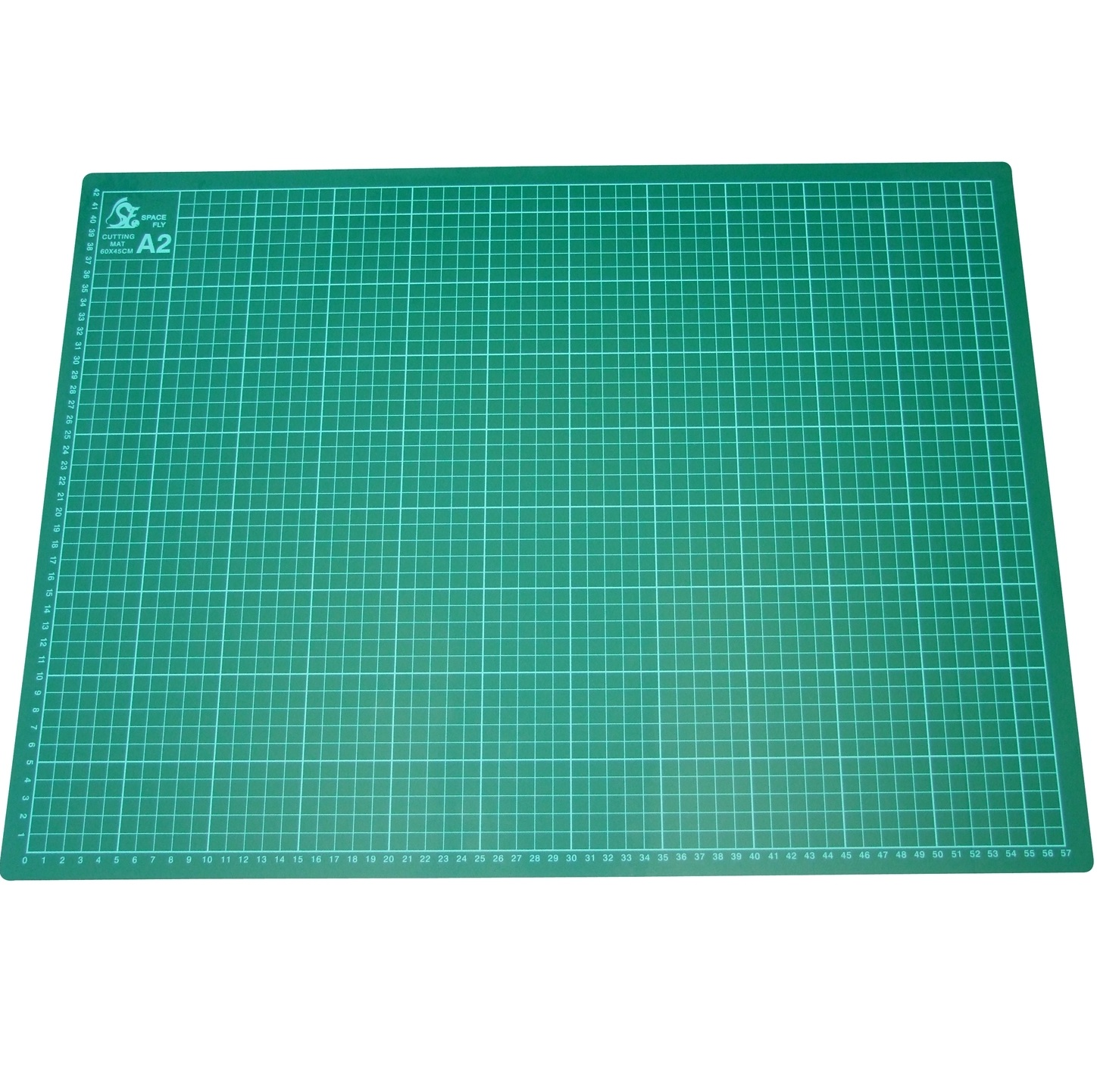cutting mat stock converging of lines healing with templates on green focus online picture abstract grid self white