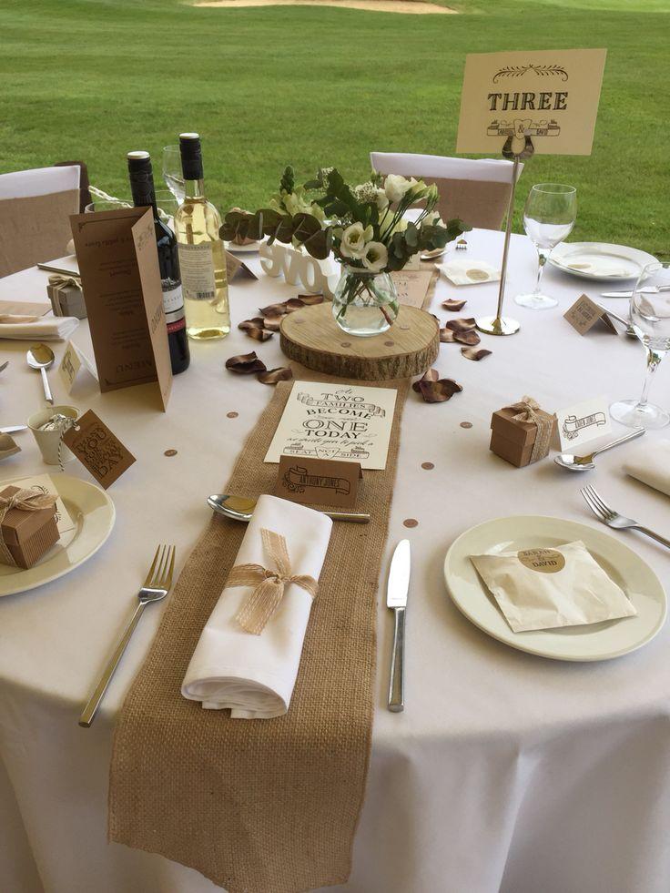 2m X 30cm Hessian Table Runner Sewed Edge Vintage Jute Wedding Party