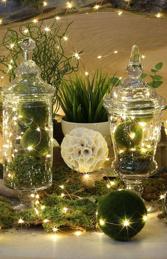 Christmas Tree Lantern Lights
