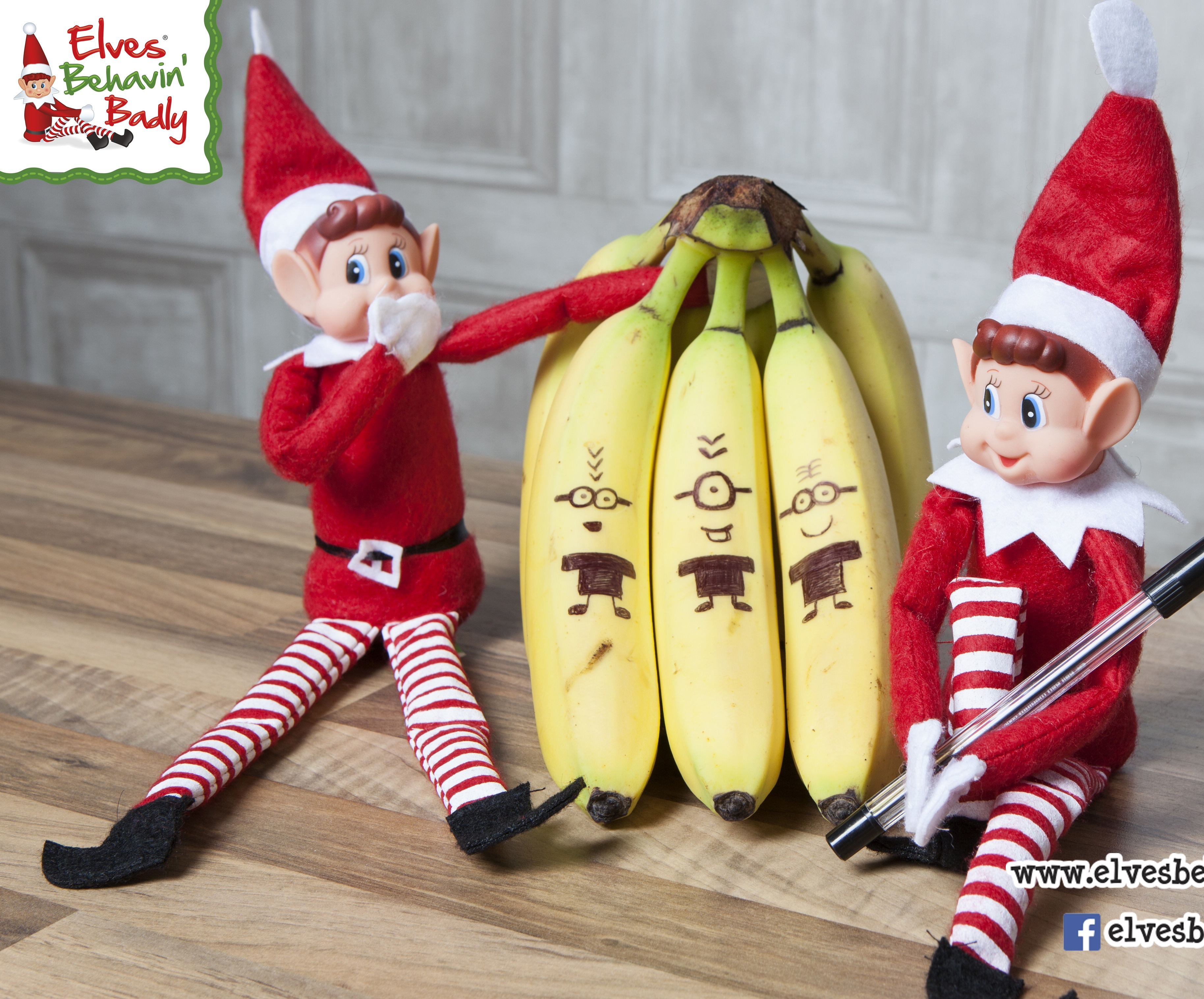 sentinel 2 x christmas gift sitting plush boy elfie elf teddy stocking filler shelf toys