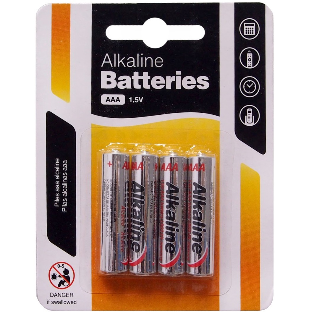 Details about 4 x Heavy AAA Alkaline Batteries 1 5V Heavy Duty Triple A  Camera Remote Control
