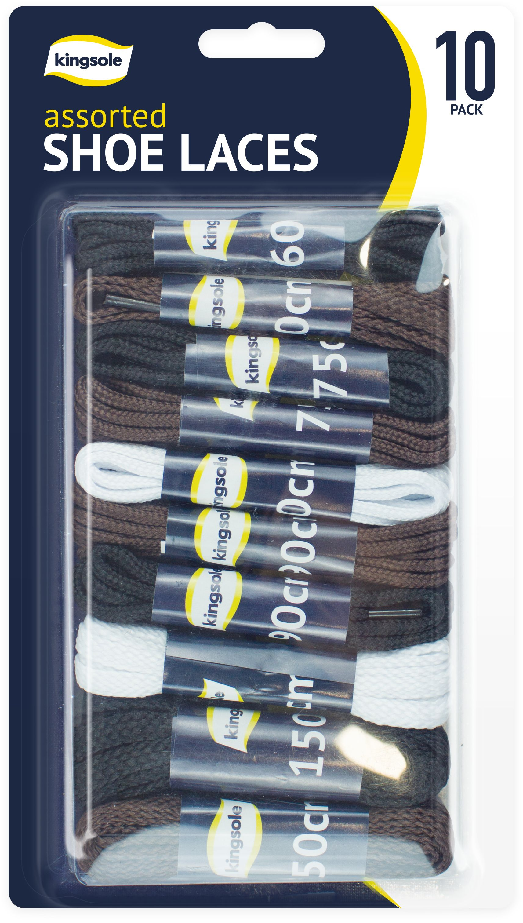 Shoes White Pack of 12 Assorted Shoe Laces Brown Hiking Trainers Black