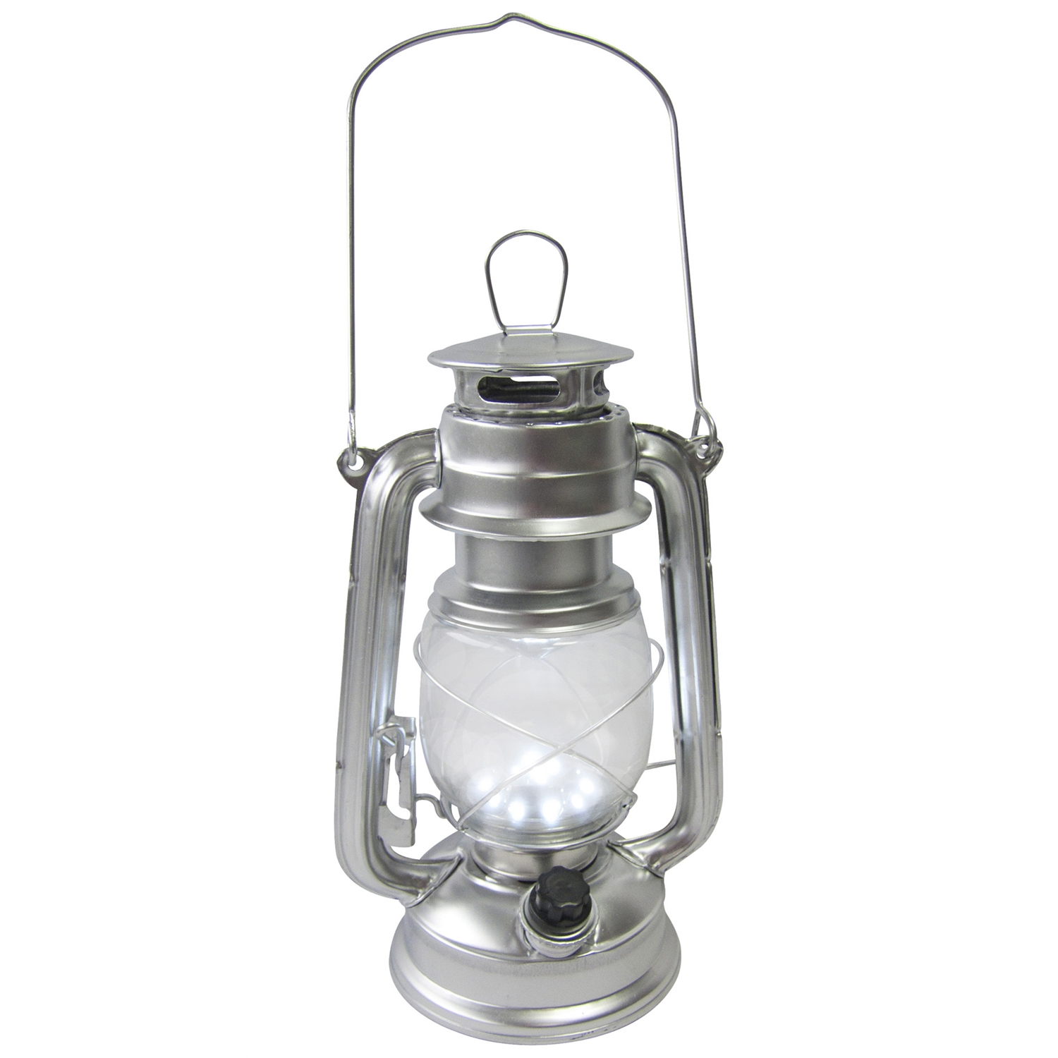 metal 15 led hurricane storm lamp camping hiking outdoor durable