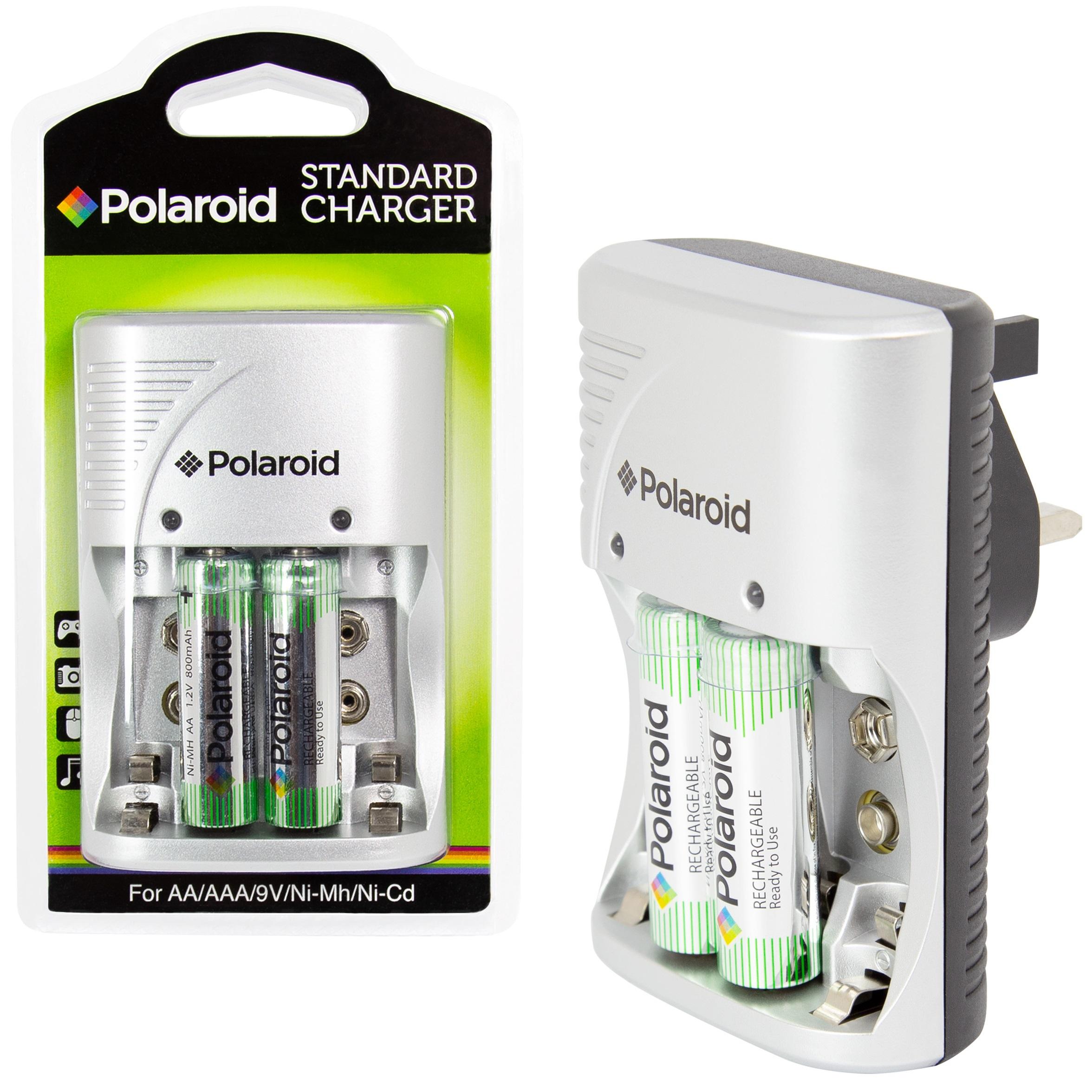 EU Plug Standard Power Charger for AA//AAA//9V//Ni-MH//Ni-Cd Rechargeable Battery