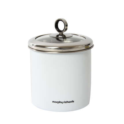 large kitchen canisters morphy richards 1 7 litre stainless steel large kitchen storage jar canister ebay 1529