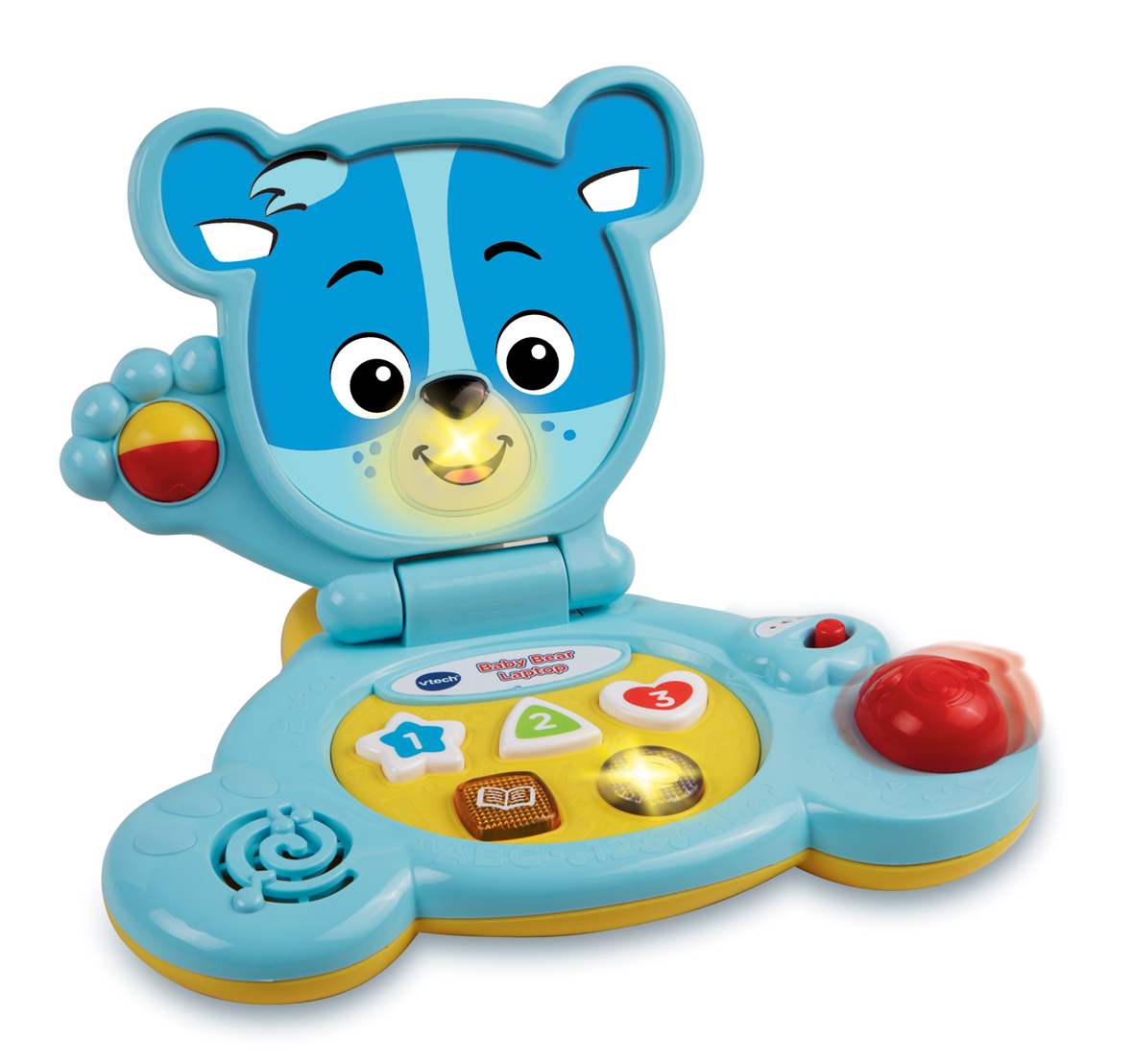 NEW KIDS VTECH BABY BEAR LAPTOP CHILDRENS INTERACTIVE TOY ...