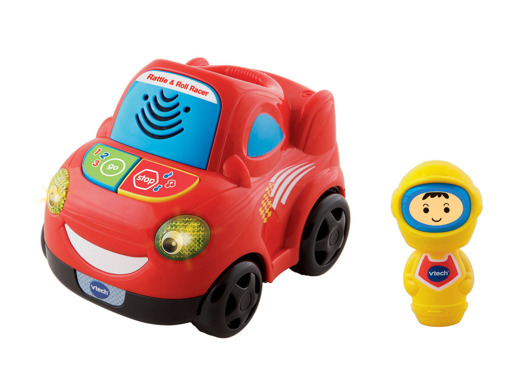 NEW VTECH BABY RATTLE AND ROLL RACER KIDS CHILDRENS FUN TOY CAR
