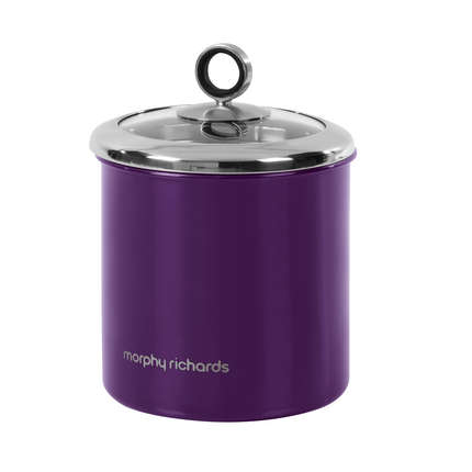 large kitchen canisters morphy richards 1 7 litre stainless steel large kitchen storage jar canister 1680