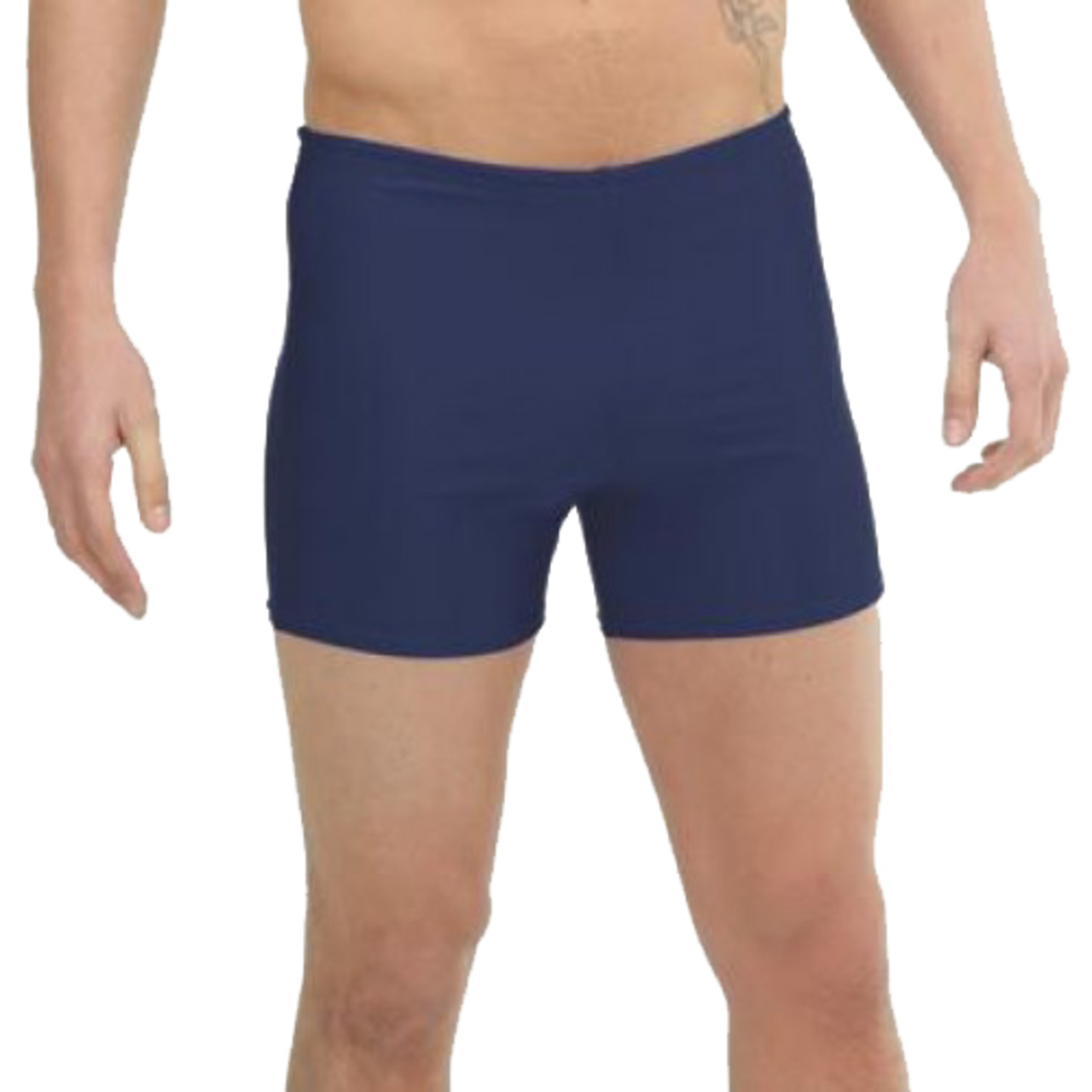 Zika Square Leg Swimming Shorts Plain Regulation School