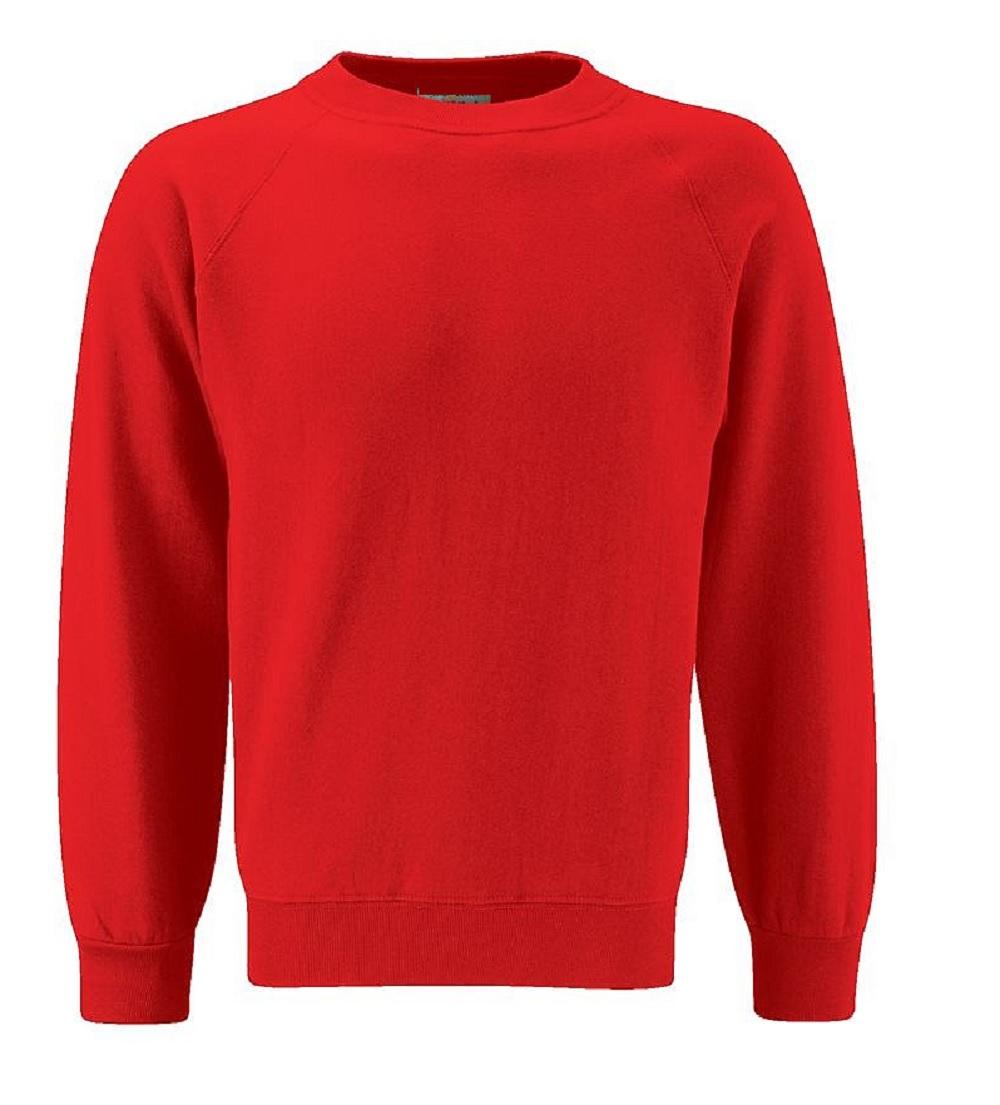 0659276d6702c5 School Uniform Sweatshirt Pullover Fleece Jumper Plain Only Uniform ...