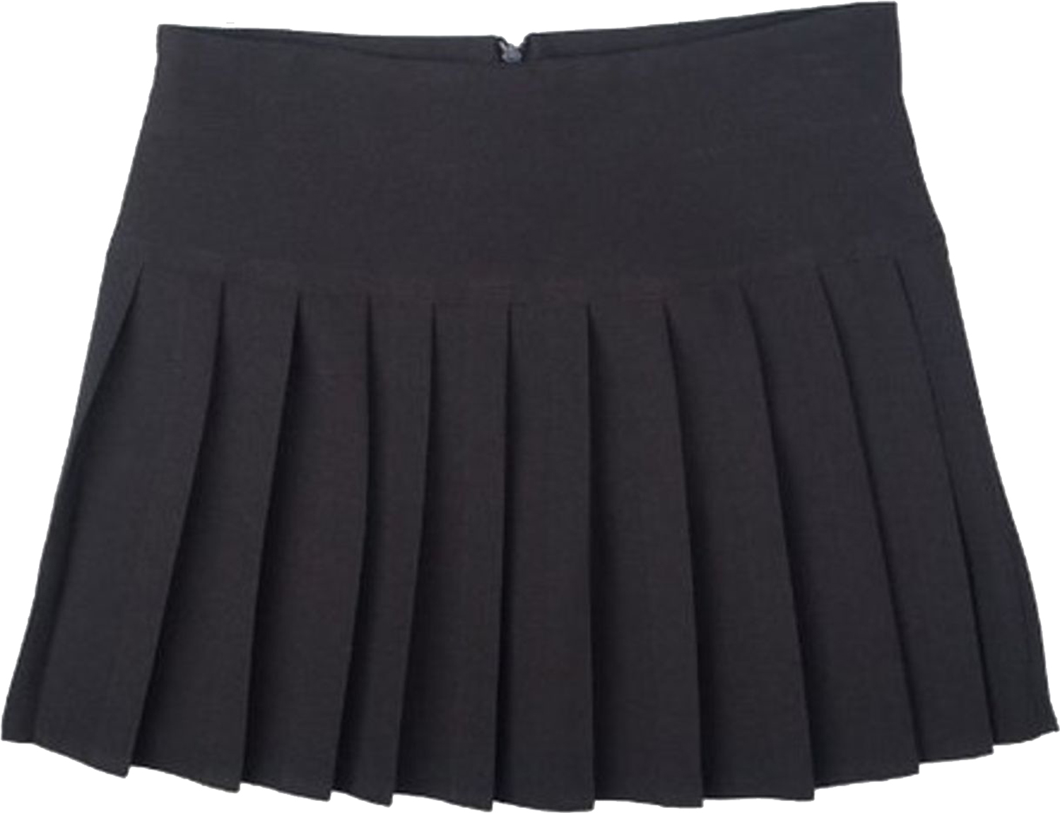Girls Ladies School Two Pleat Layered Ra Ra Stretch School Work Office Skirt
