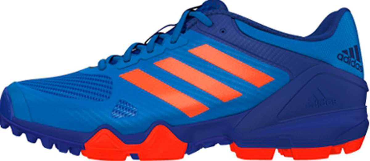 adidas hockey shoes blue