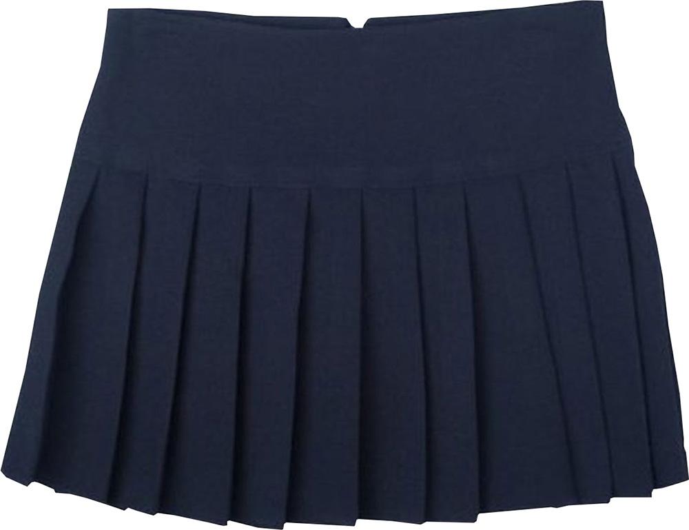 GS3002 Zeco School Uniform Girls Fully Elaticated Box Pleat Skirt 2-20 Years
