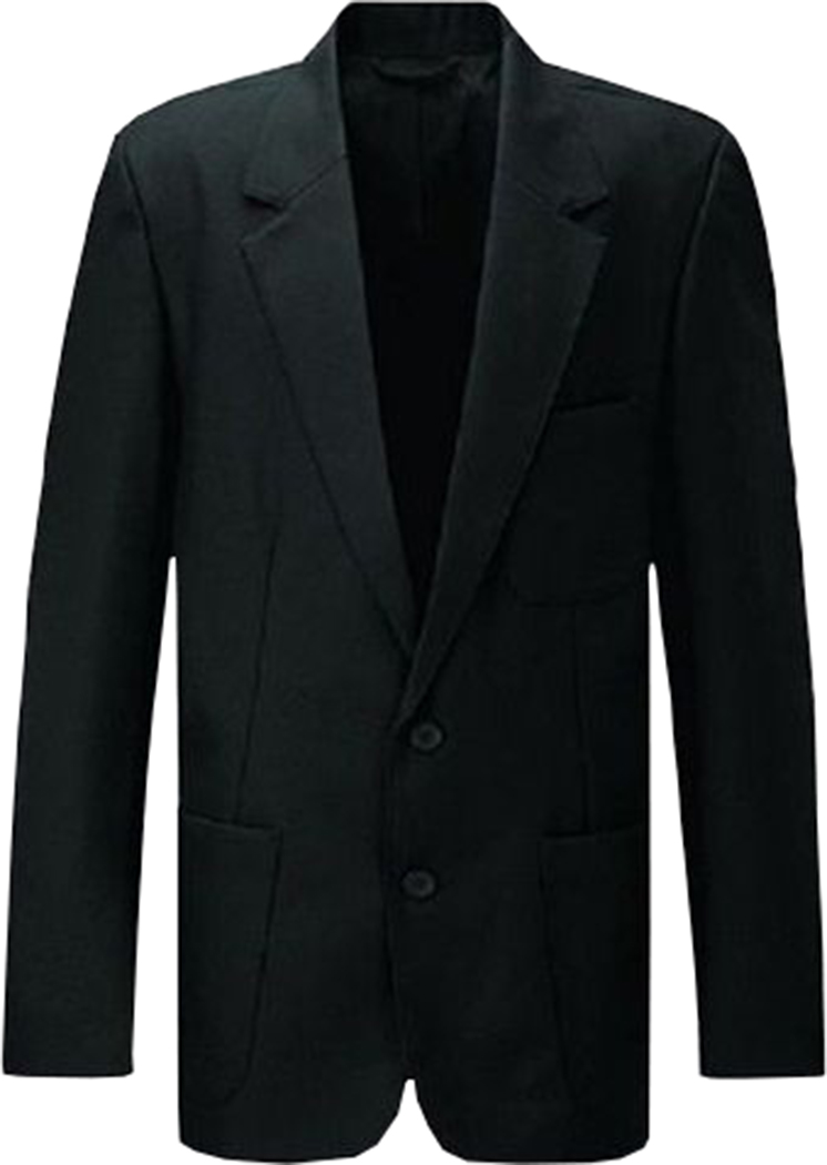 "Kids Boys Girl School Blazer Jacket Uniform Black Navy Age 7 Chest 50/"" Teflon"