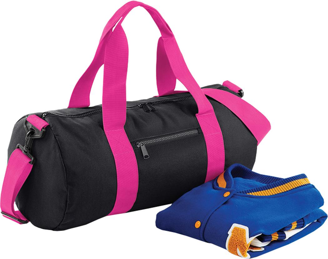 89aa11e8a1 Bagbase Original Barrel Bag Sports Gym Travel Holdhall Unisex Camo ...