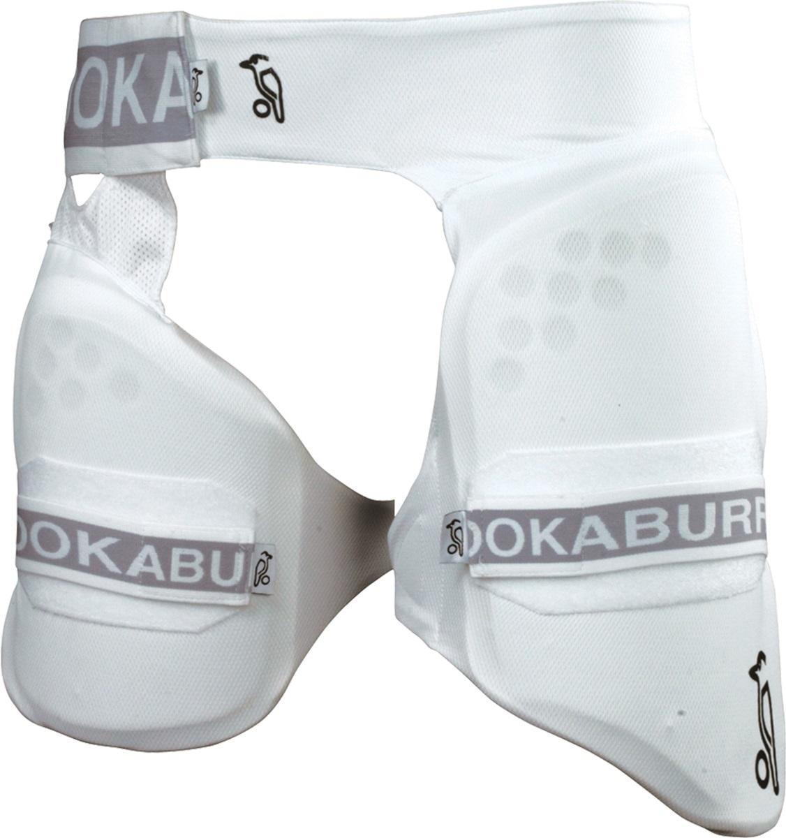 Kookaburra Cricket 1000 Abdo Guard Shock Absorbent Box ABS Padded Shell ***New