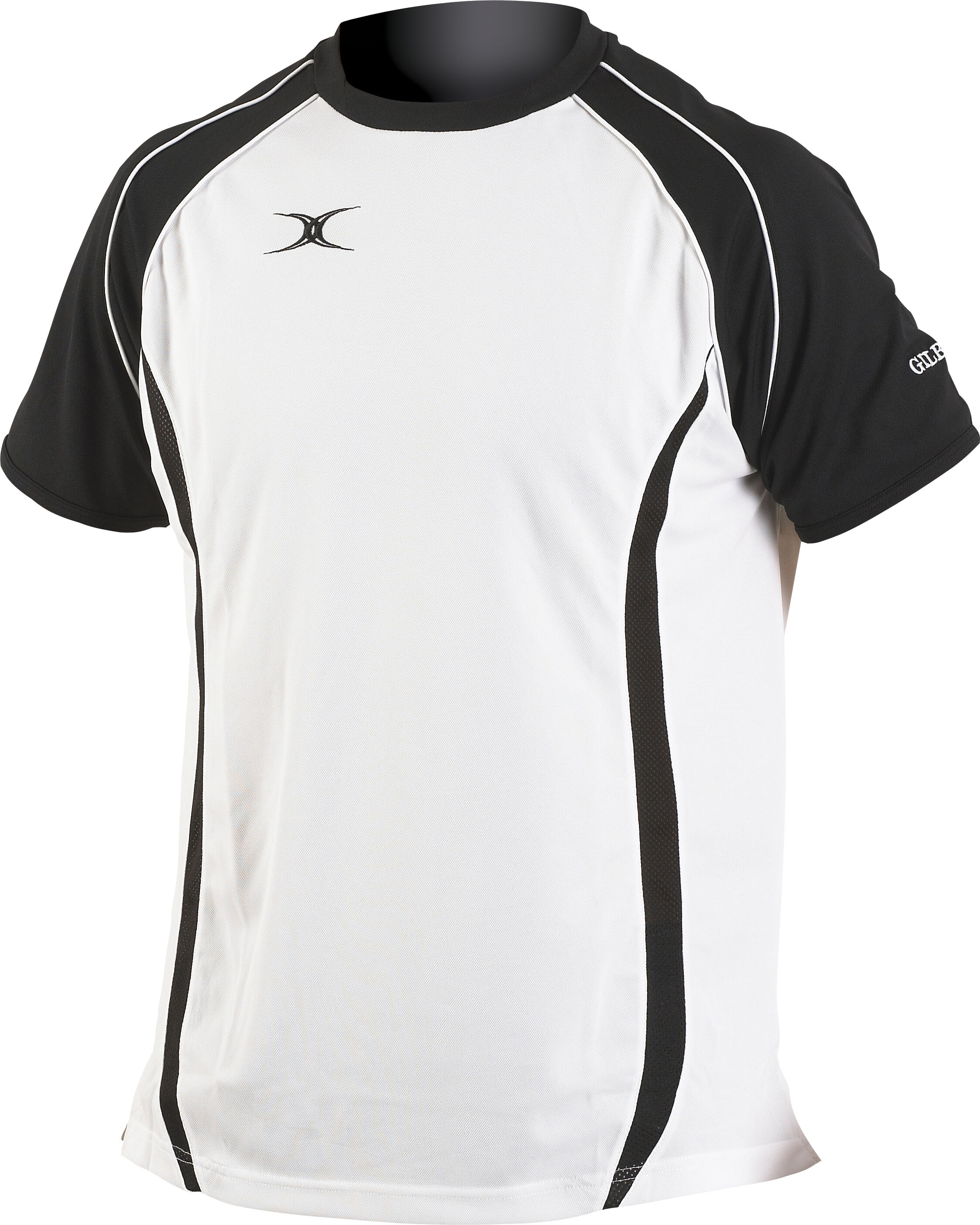 New Gilbert Performance Tee Durable Rugby Leisure Shirt ...