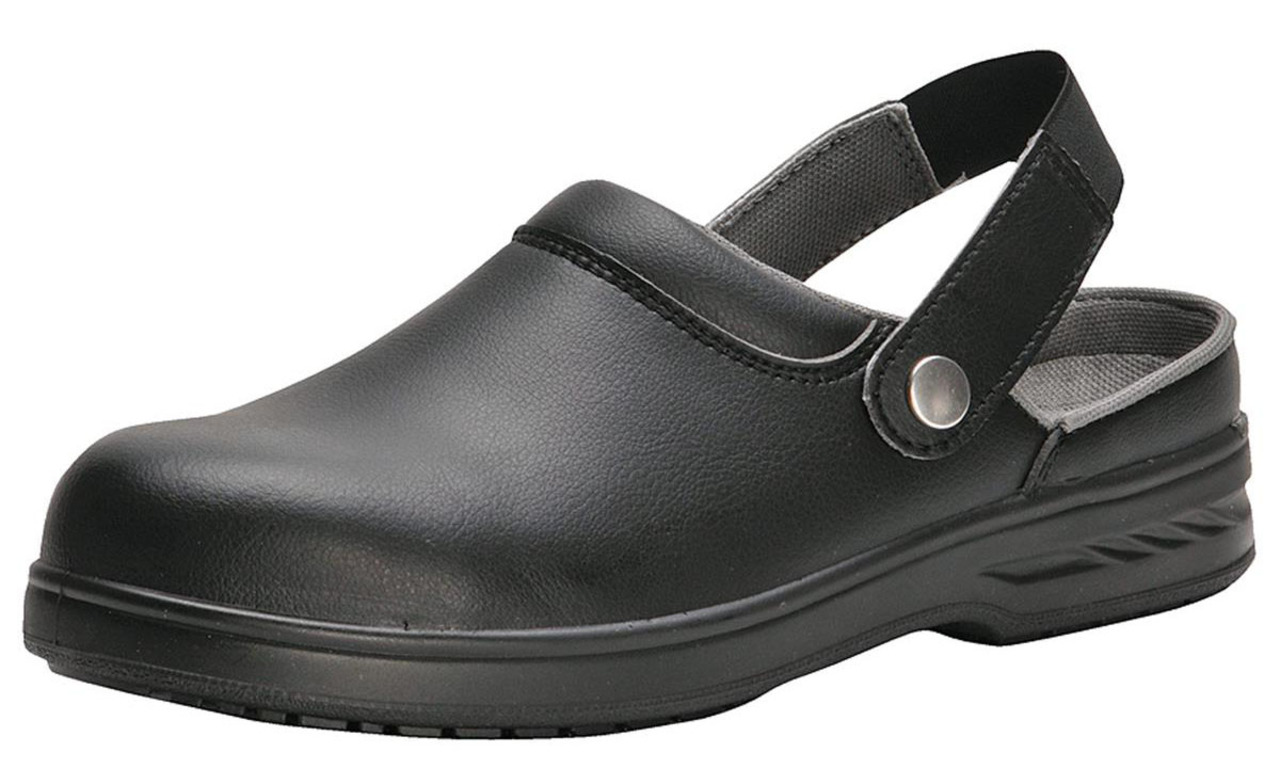 Attirant Portwest Steelite Safety Clog FW82 Durable Kitchen Chef