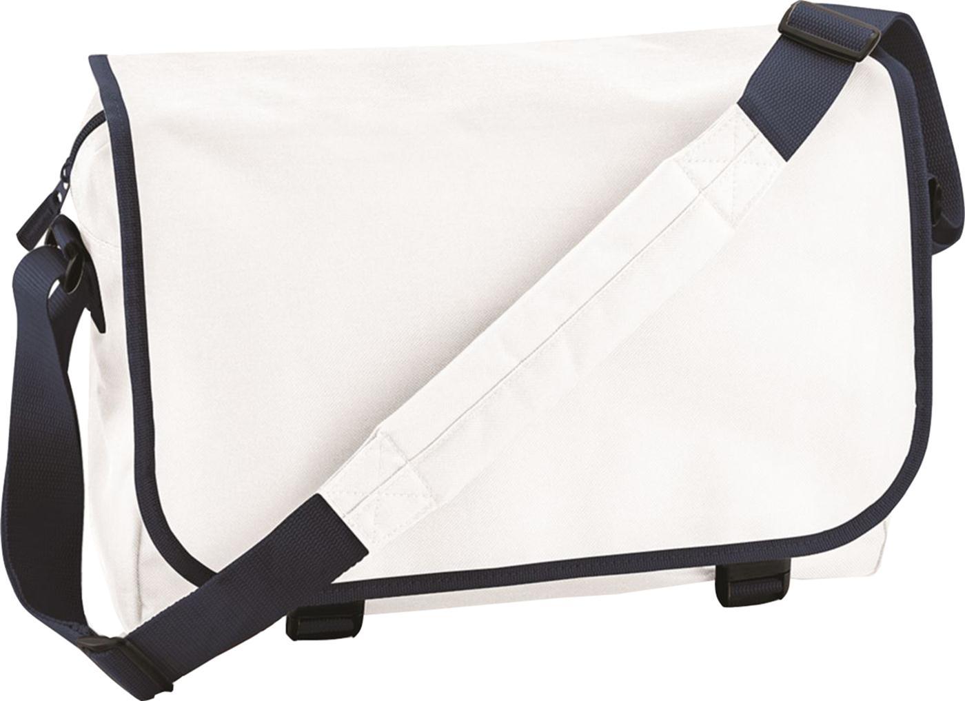 BagBase Unisex Adjustable Shoulder Strap Plain 600d Polyester ...