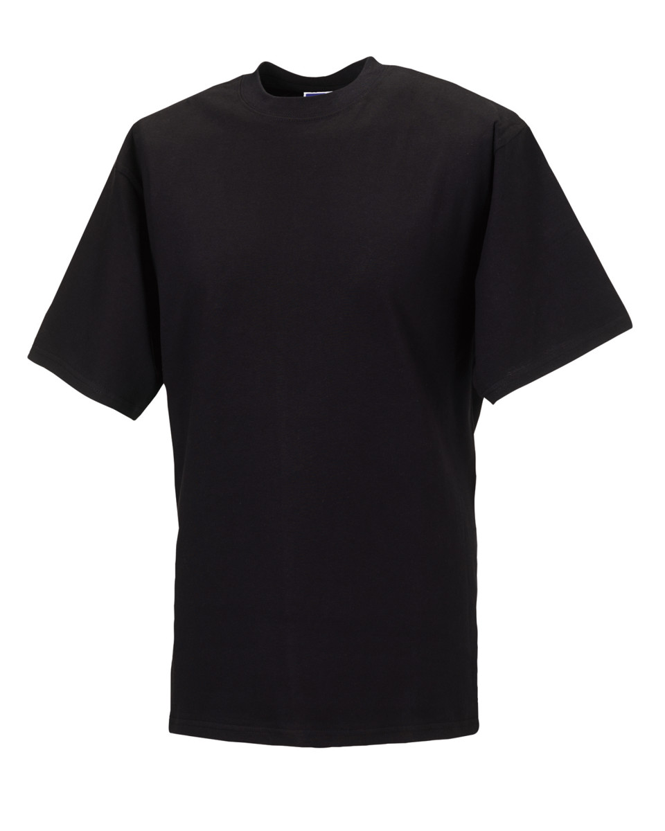 b60dda0229a Details about Russell Classic Mens Cotton Wear Rib Knit Collar Short  Sleeves Gents T-Shirts
