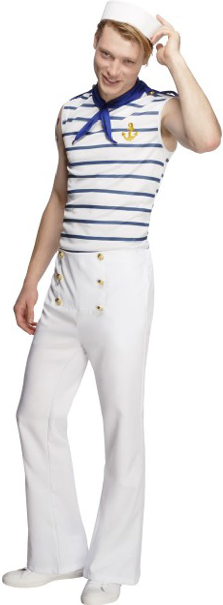 Sexy male sailor costume