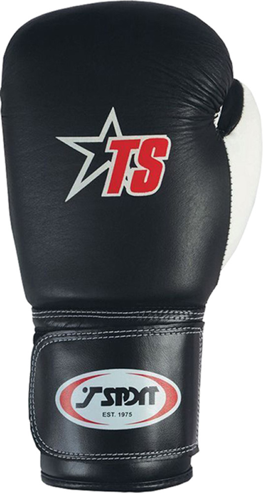 T-Sport-Leather-Boxing-Glove-Mesh-Finger-Boxers-Punch-Practice-amp-Training-Mitts