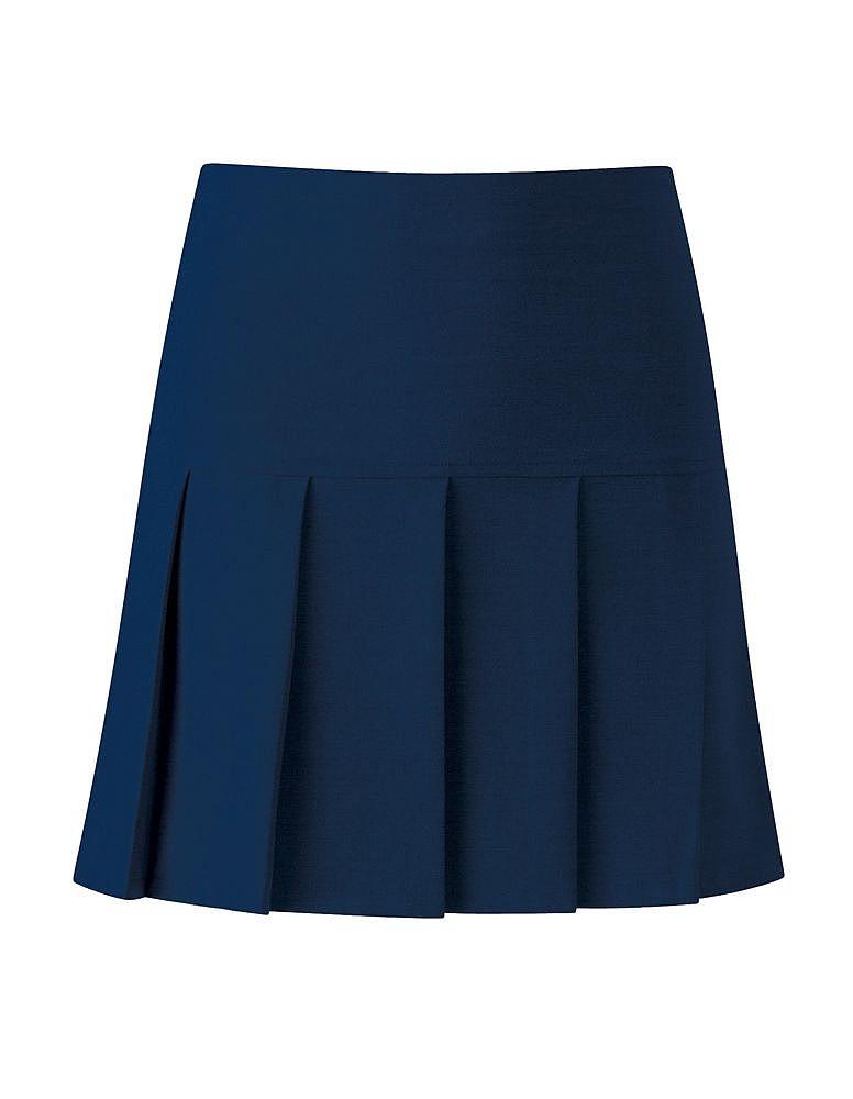 Onlyglobal Banner Charleston Girls Back Zip Deep Yoke All Round Pleated School Skirt