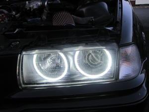 4X Ccfl Angel Eye Eyes Halo Rings Light Lamp Bulbs Kit For BMW E36 3 E38 White Preview
