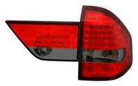 View Item Back Rear Tail Lights Lamp Indicator Set LED Red-Black For BMW X3 03-06