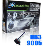 View Item 9005 HB3 Xenon HID Conversion Kit Slim Ballast Headlight Bulbs Pair Replacement
