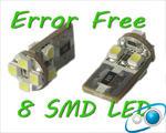 View Item 8 LED Canbus Error Free T10 194 501 W5W Bulbs Lighting Lamp Replacement Part