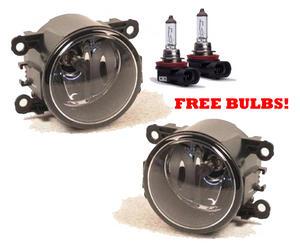 Left OR Right fog light lamp free H11 bulb Fits Citroen C4 Mk1 Hatchback 04-10