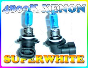 PAIR 65W 9005/HB3 SUPERWHITE 4800K XENON HEADLIGHT BULBS Preview