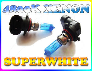 PAIR 42W H10 SUPERWHITE 4800K XENON HEADLIGHT BULBS Preview