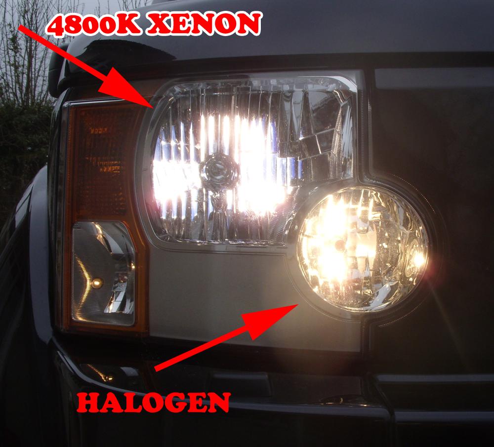 Mercedes CLS C219 100w Clear Xenon HID Low Dip Beam Headlight Headlamp Bulbs