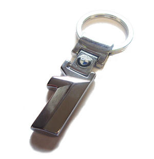 BMW 1 Series Stainless Steel Key Ring Chain Fob Keyring E81 E88 E87 F20 F21 Preview